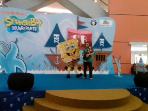 Meet and Greet with Sponge Bob