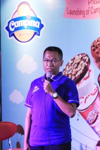 Bapak Adji Andjono, National Sales & Marketing Manager PT Campina Ice Cream Industry