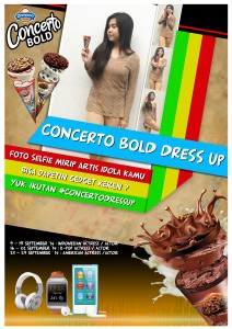 Poster Concerto Dress Up