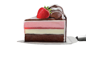 Cassata Ice Cream Cake (slice)