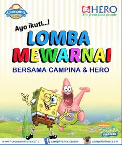 Sticker Drop Box Lomba mewarnai