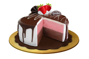 Sweetheart Chocolate Ice Cream Cake