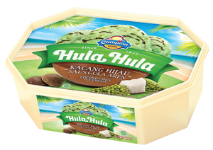 Hula-Hula Kacang Hijau Saus Gula Aren